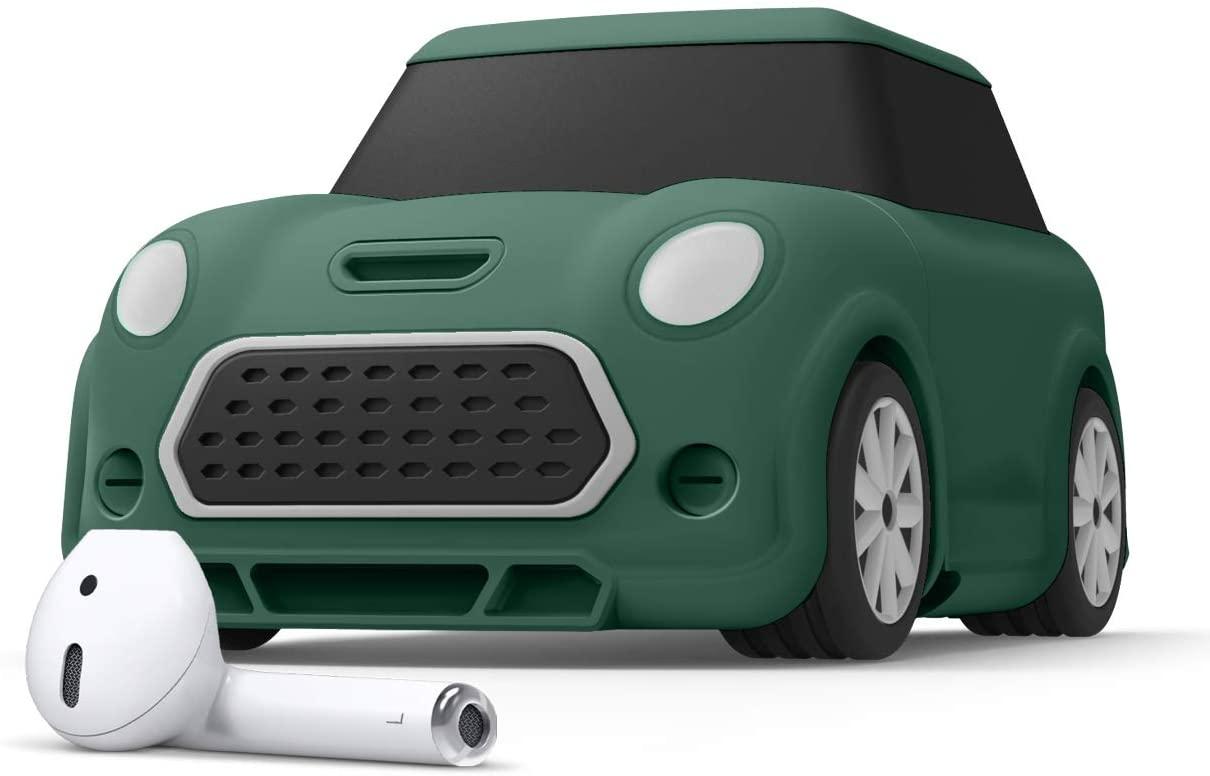 Elago AirPods Mini Car Case - Θήκη Σιλικόνης για AirPods 2nd Gen / 1st Gen - Green (EAP-MINICAR-GR)