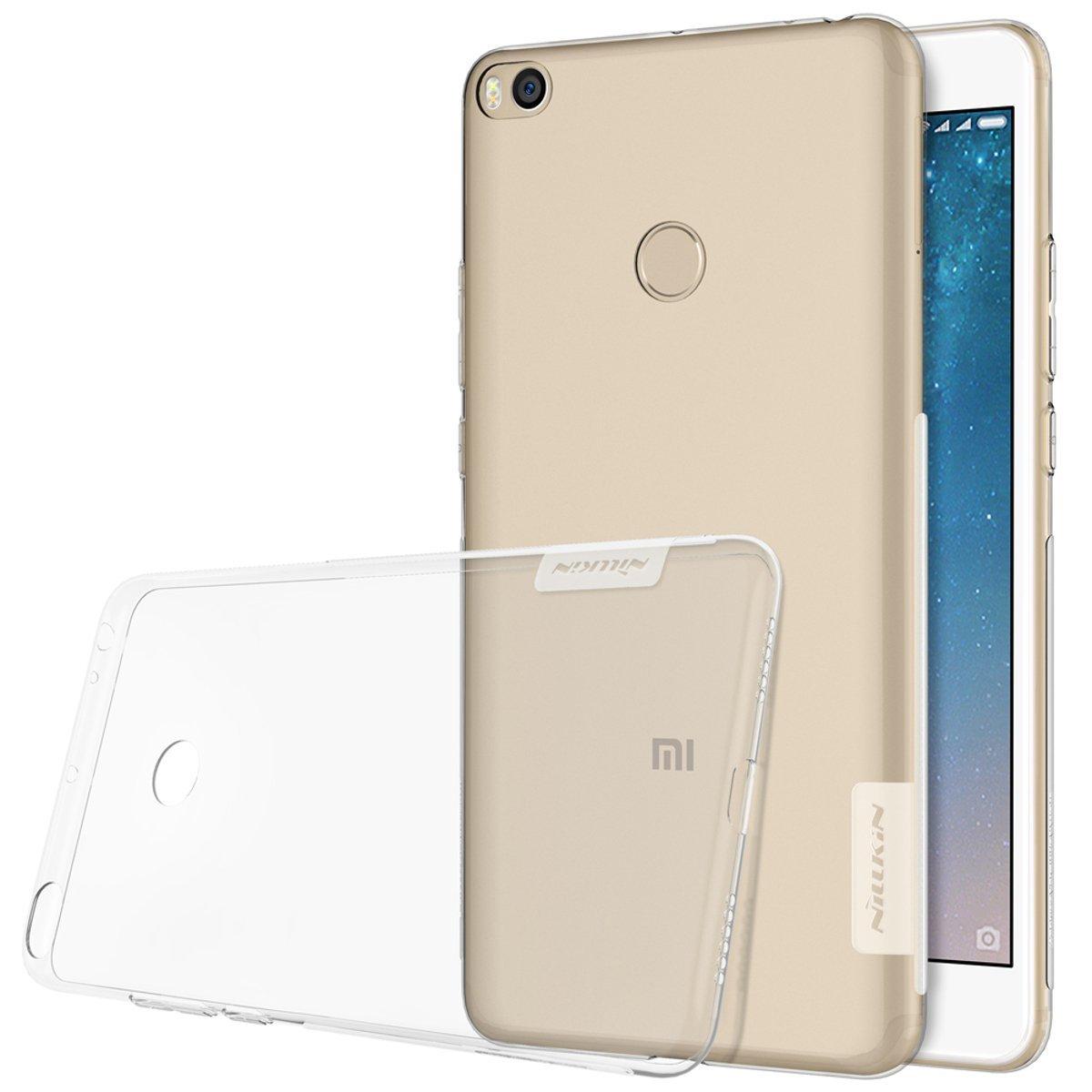 Nillkin Nature Διάφανη Θήκη Σιλικόνης Xiaomi Mi Max 2 - Clear (11875)