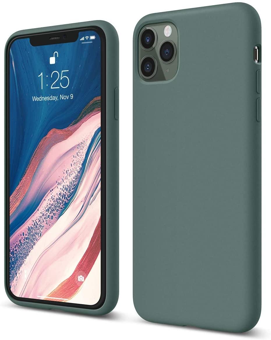 Elago Θήκη Σιλικόνης iPhone 11 Pro Max  - Midnight Green (ES11SC65-MGR)