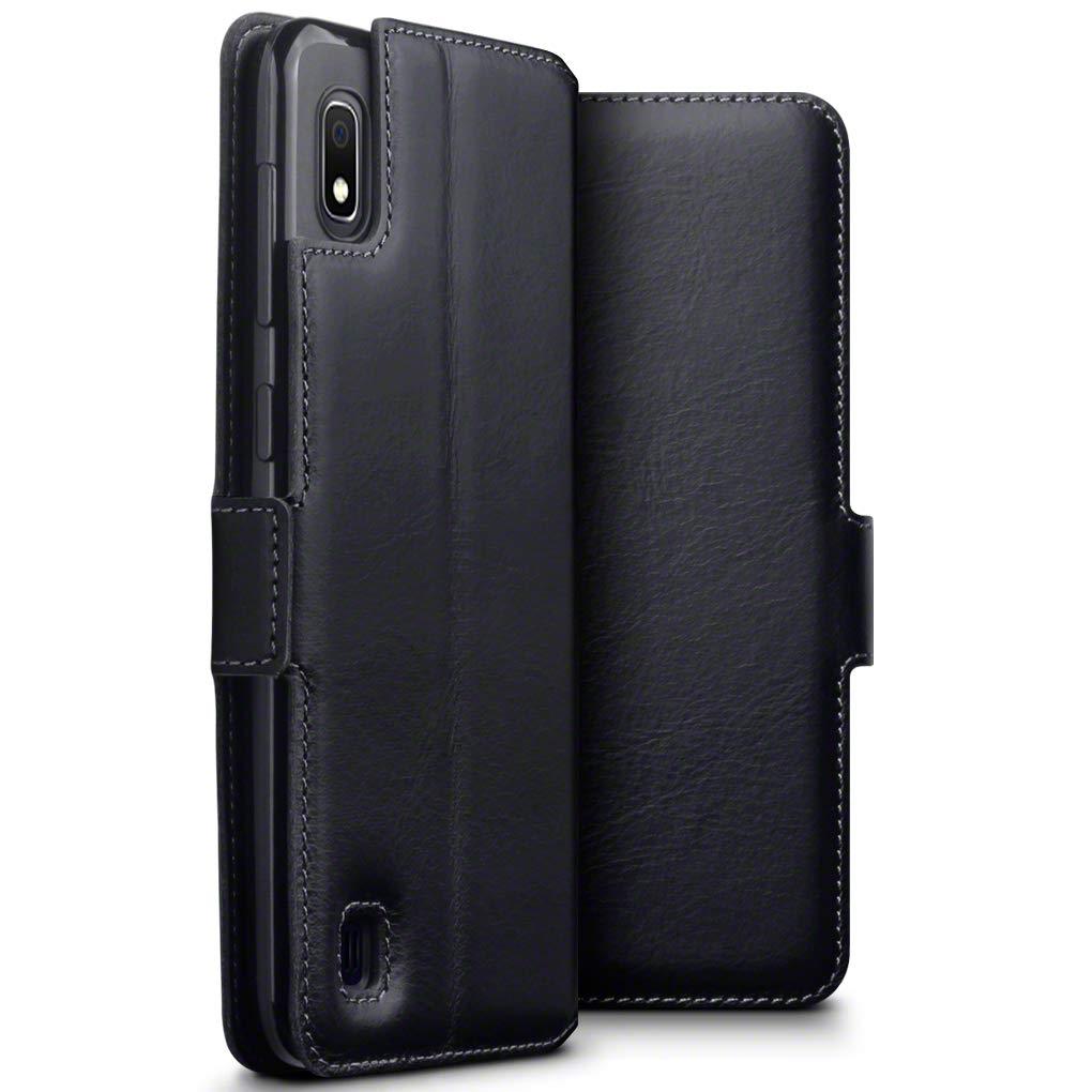 Terrapin Low Profile  Δερμάτινη Θήκη - Πορτοφόλι Samsung Galaxy A10 - Black (117-002a-123)