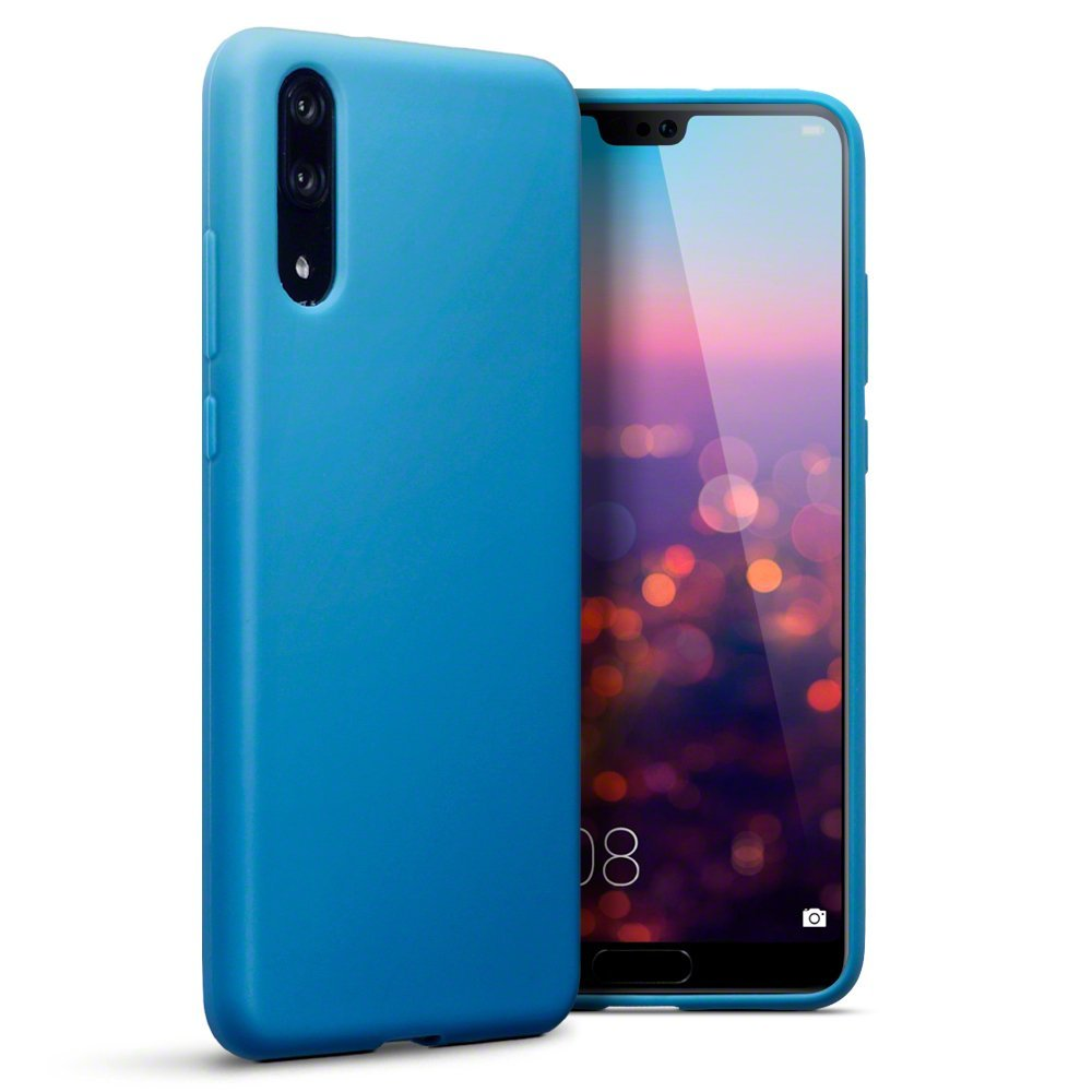Terrapin Θήκη Σιλικόνης Huawei P20 - Light Blue (118-083-151)