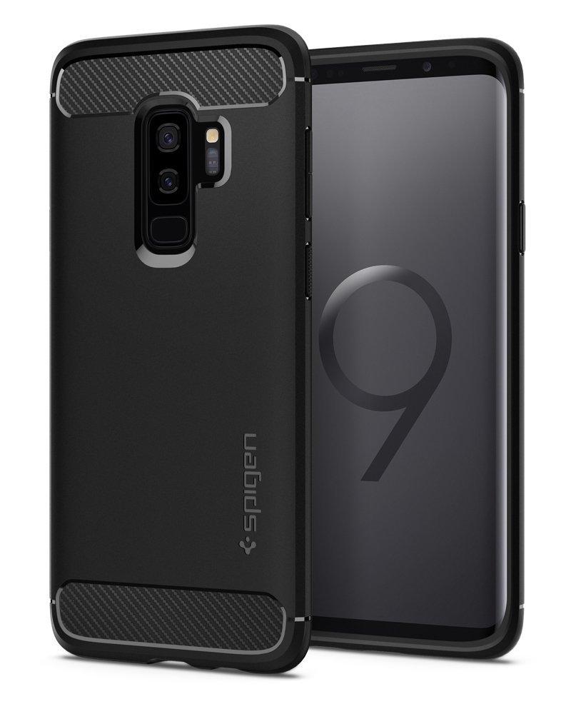Spigen Θήκη Rugged Armor Samsung Galaxy S9 Plus - Black (593CS22921)