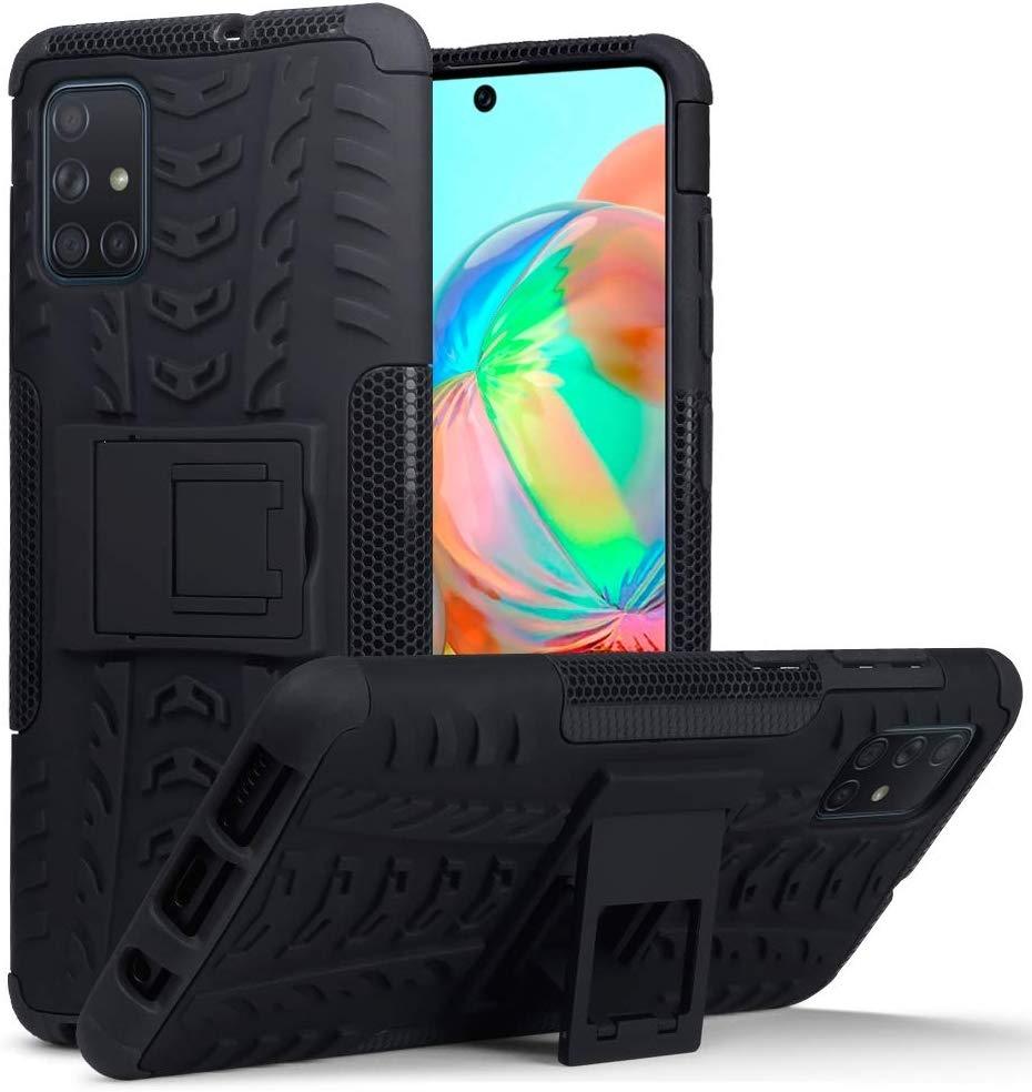 Terrapin Ανθεκτική Θήκη Dual Layer Rugged Samsung Galaxy A71 - Black (131-002-211)