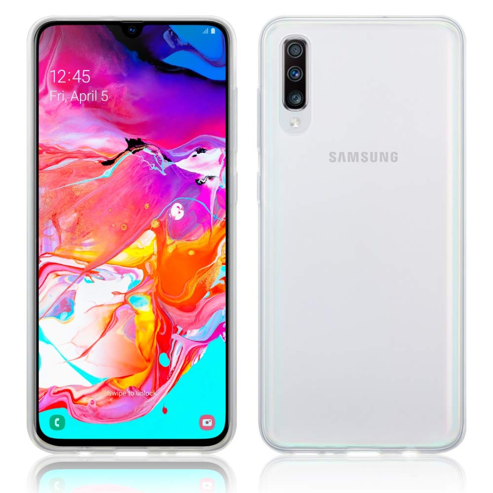 Terrapin Θήκη Σιλικόνης Samsung Galaxy A70 - Transparent (118-002-767)