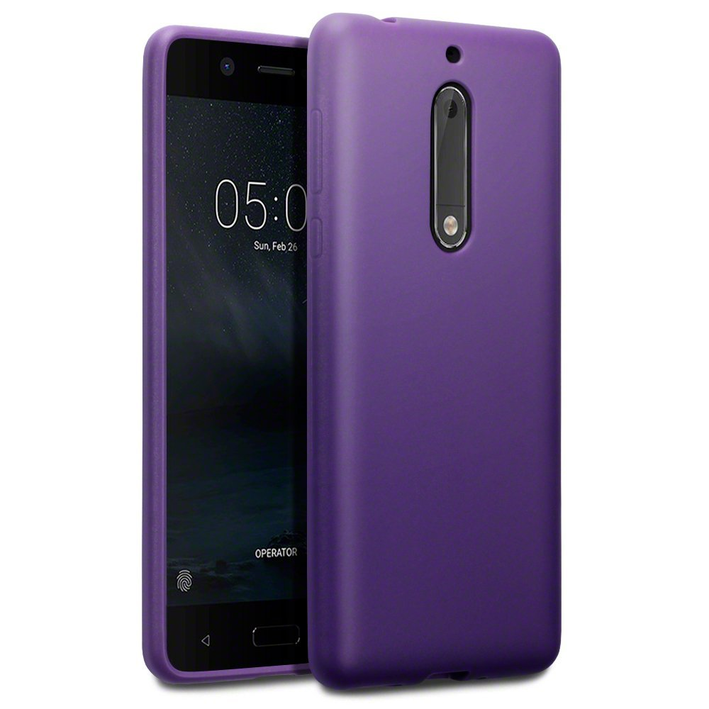 Terrapin Θήκη Σιλικόνης Nokia 5 - Purple (118-001-236)