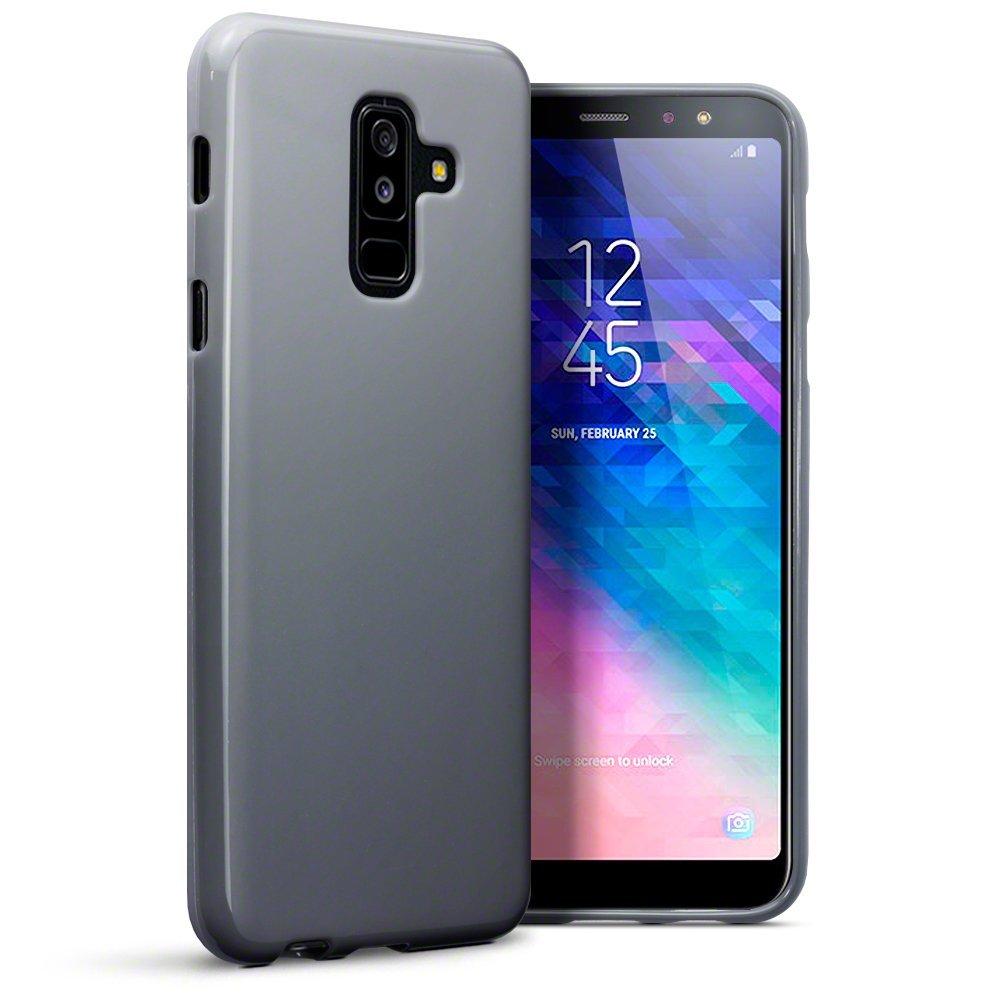 Terrapin Θήκη Σιλικόνης Samsung Galaxy A6 Plus 2018 - Grey (118-002-701)