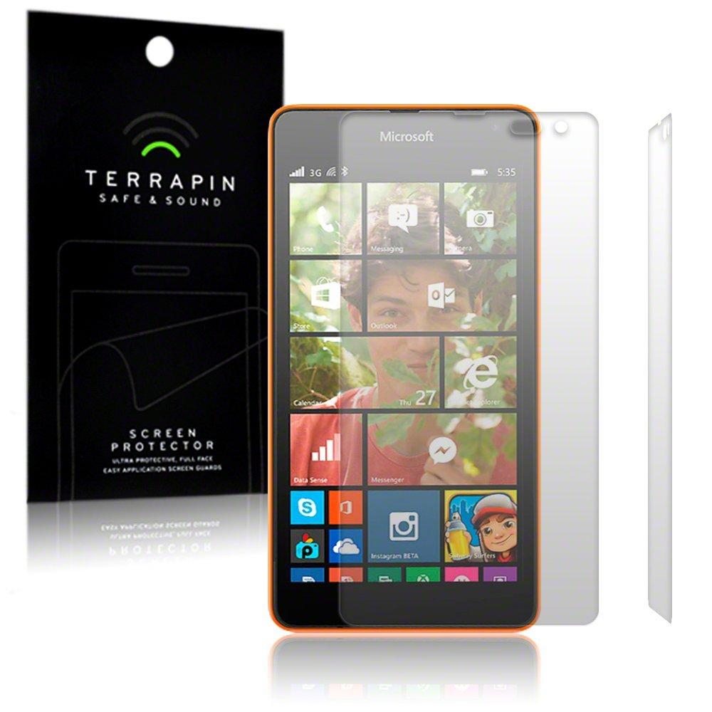 Μεμβράνη Προστασίας Οθόνης Microsoft Lumia 535 by Terrapin - 2 Τεμάχια (006-116-001)