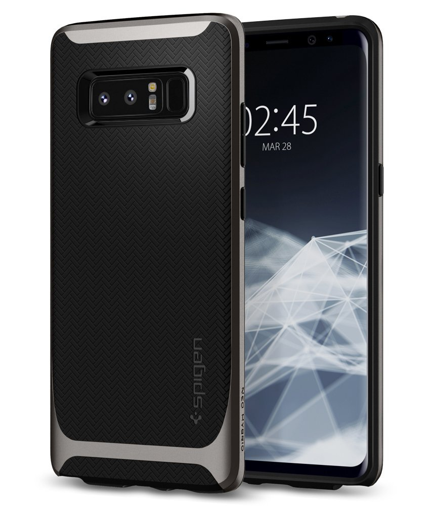 Spigen Θήκη Neo Hybrid Samsung Galaxy Note 8 - Gunmetal (587CS22084)