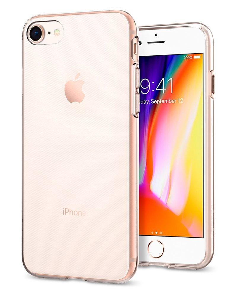 Spigen Θήκη Liquid Crystal iPhone 8 / 7 (2nd Generation) - Clear (054CS22203)