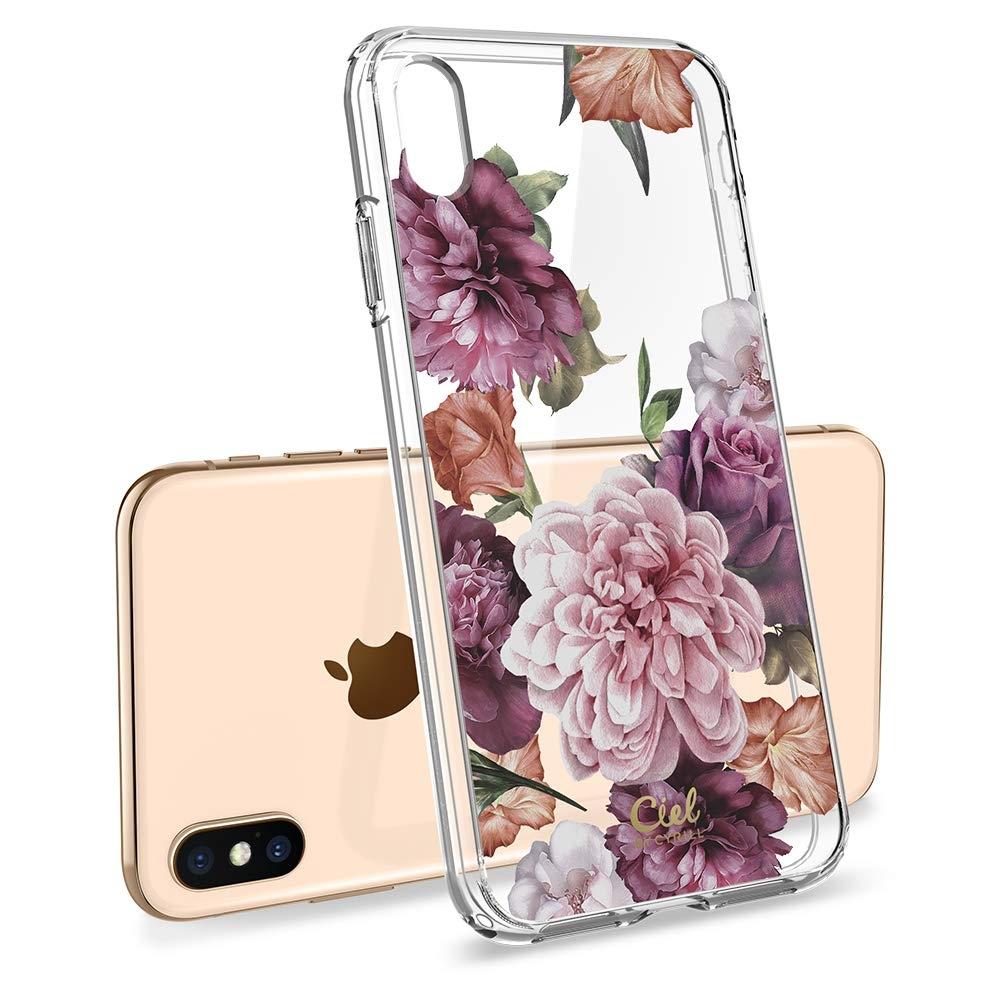 Spigen Θήκη Ciel iPhone X / XS - Rose Floral (063CS24937)