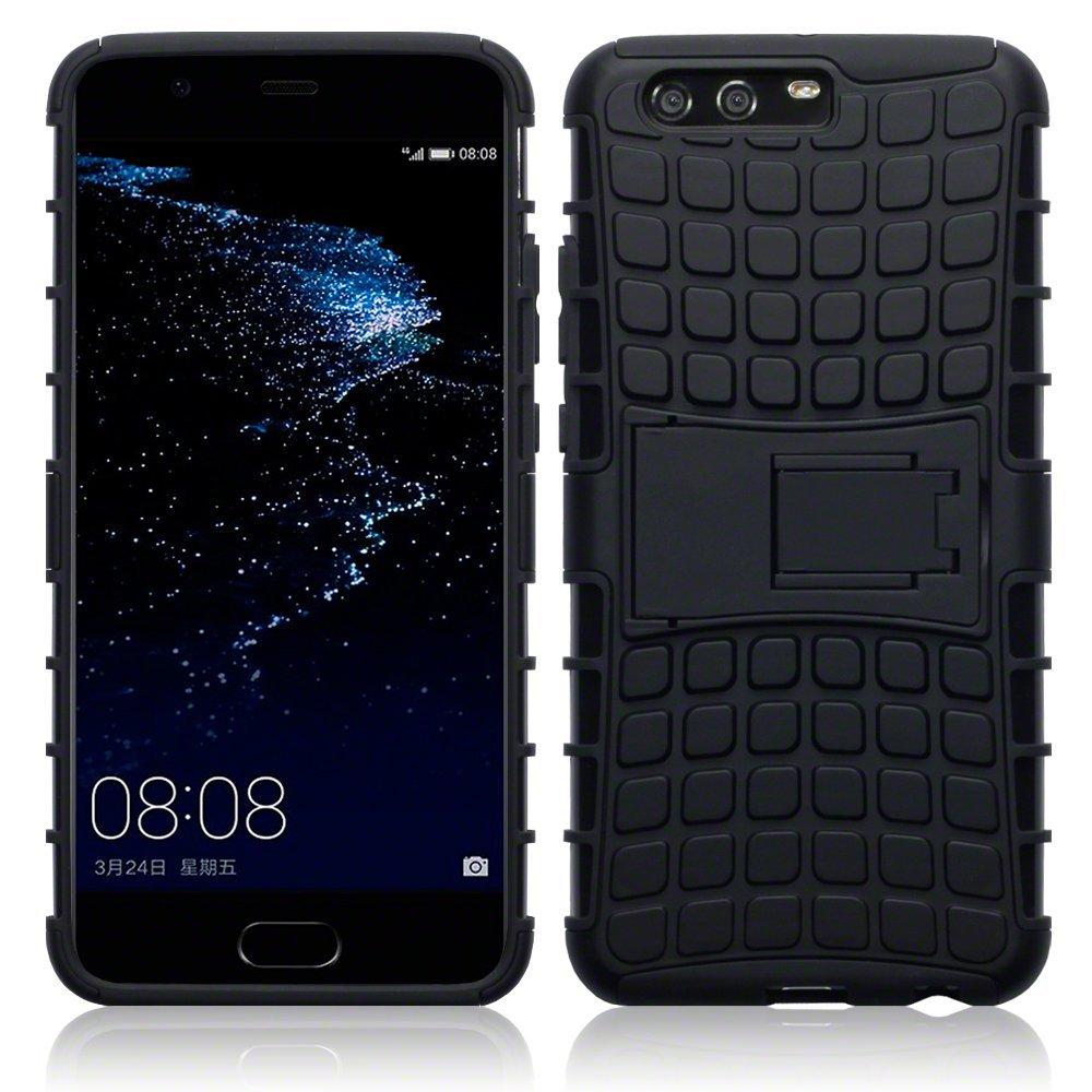 Terrapin Ανθεκτική Θήκη με Stand Huawei P10 Plus - Black (131-083-031)