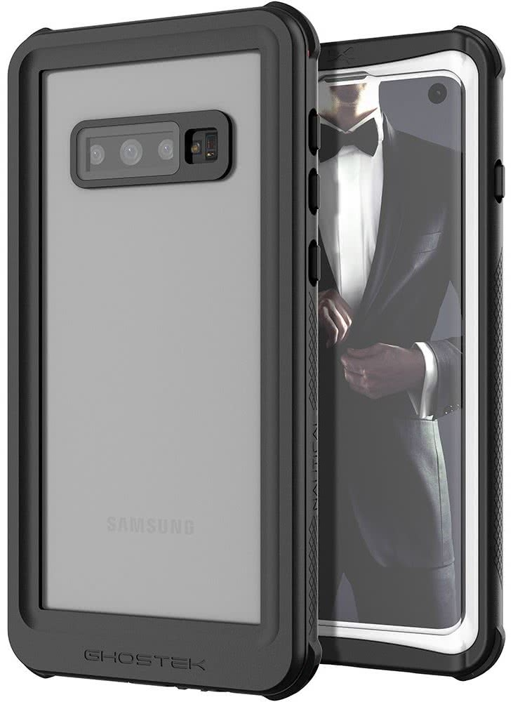 Ghostek Nautical 2 Αδιάβροχη Θήκη Samsung Galaxy S10 - White / Black (GHOCAS2108)