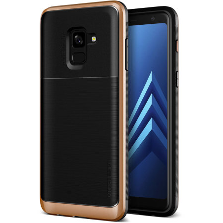 VRS Design Θήκη High Pro Shield Series Samsung Galaxy A8 (2018) - Blush Gold (12746)