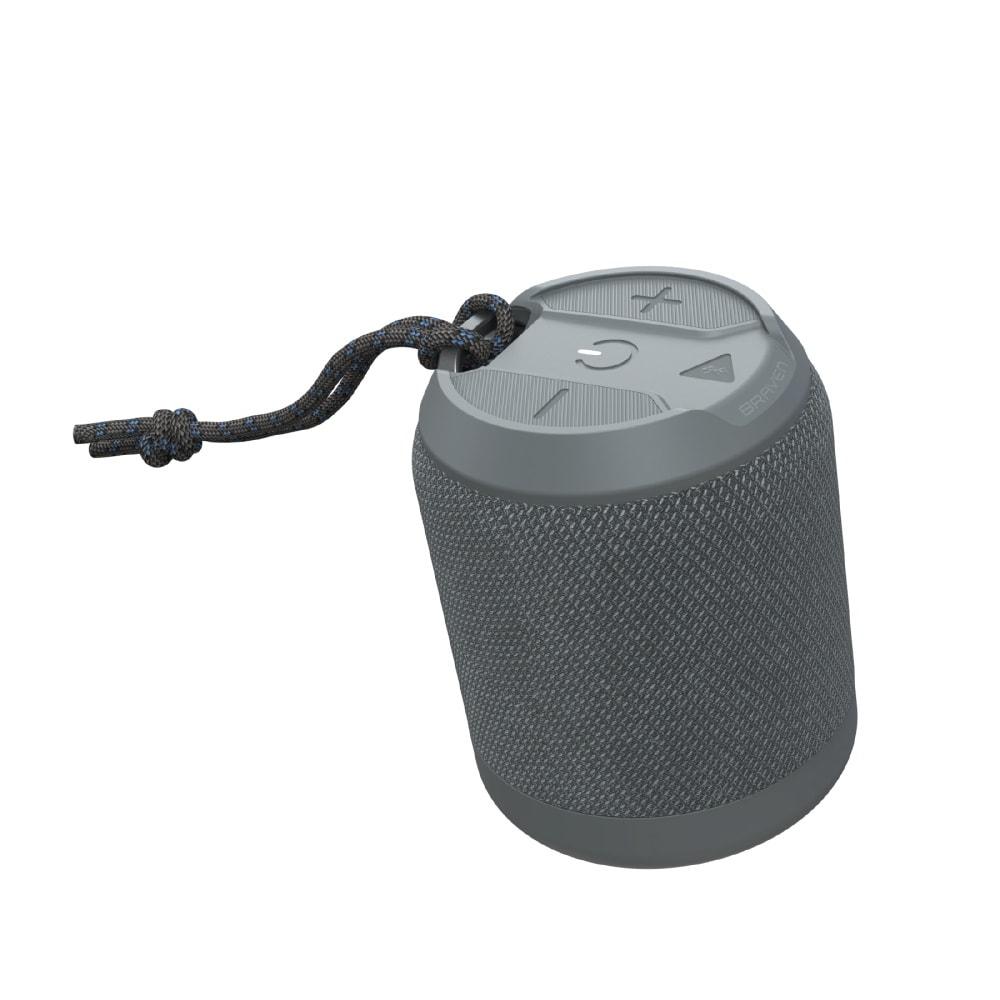 Zagg Braven BRV Bluetooth Speaker - Μίνι Φορητό Αδιάβροχο Ηχείο - Grey (604203556)