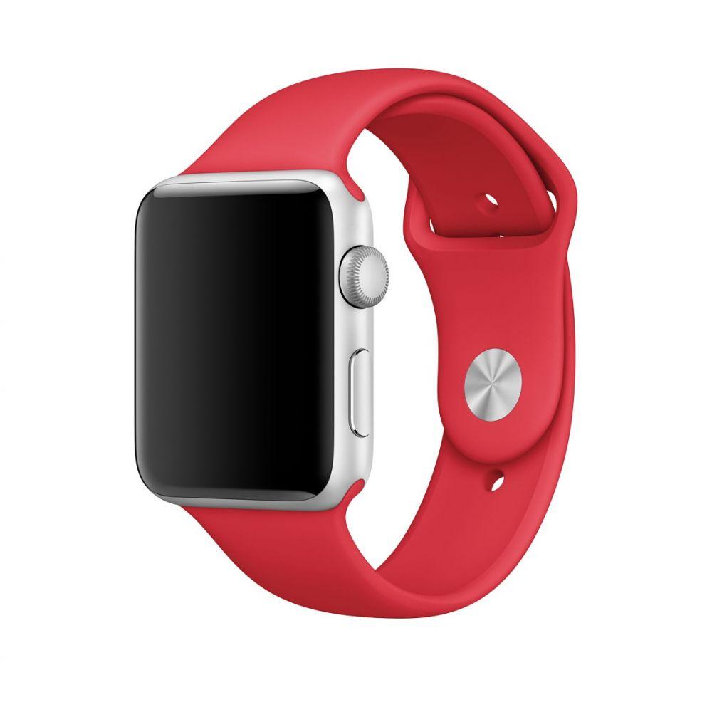 Ανταλλακτικό Λουράκι Apple Watch 5/4/3/2/1 (44/42mm) - OEM - Red (11926)