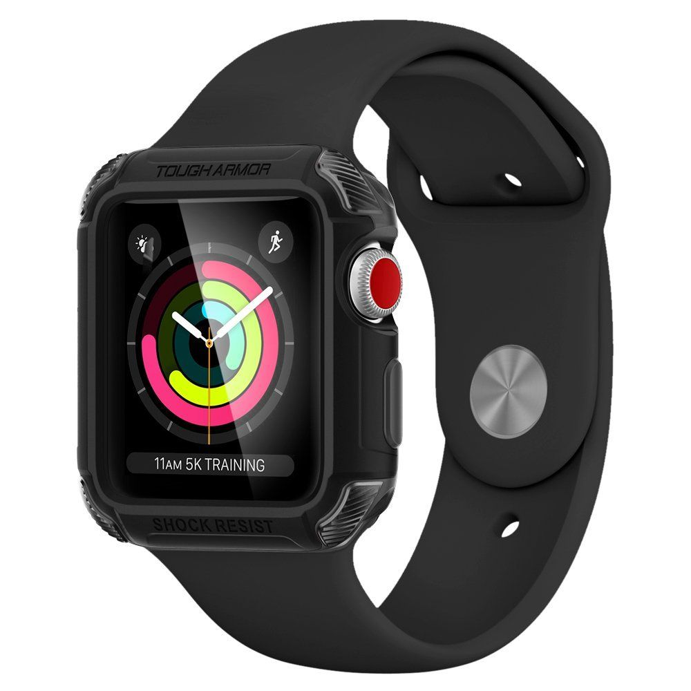 Spigen Θήκη Tough Armor 2 Apple Watch 3/2/1 (42mm) - Black (059CS22405)