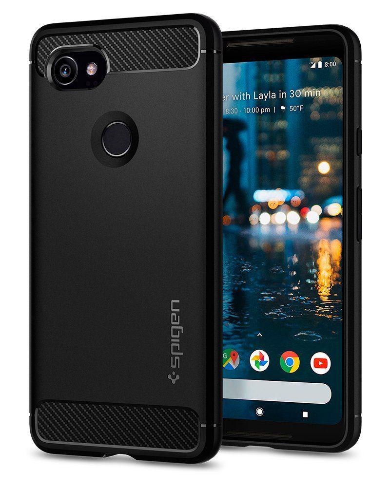 Spigen Θήκη Rugged Armor Google Pixel 2 XL - Black (F17CS22279)