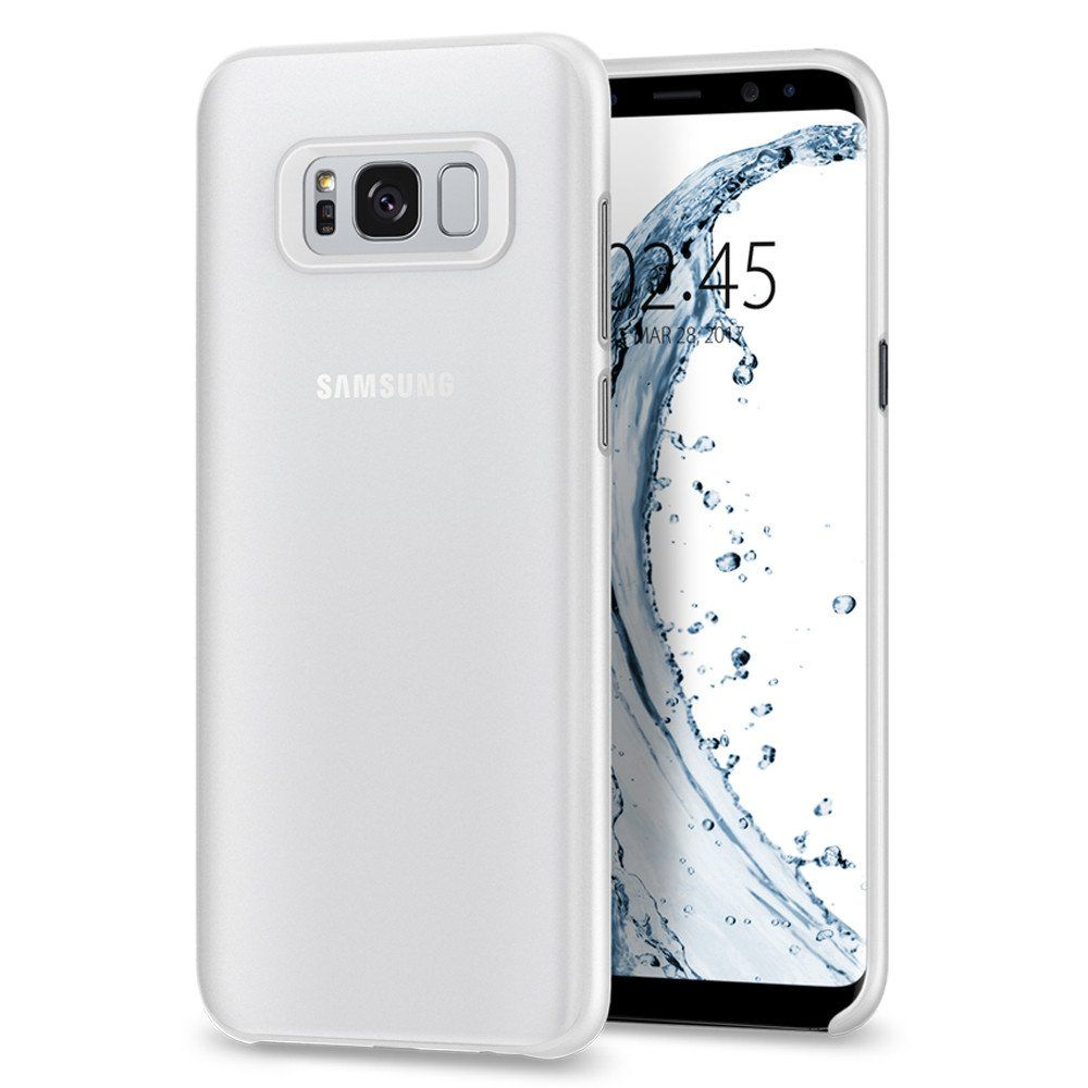 Spigen Θήκη Air Skin Samsung Galaxy S8 Plus - Soft Clear (571CS21679)