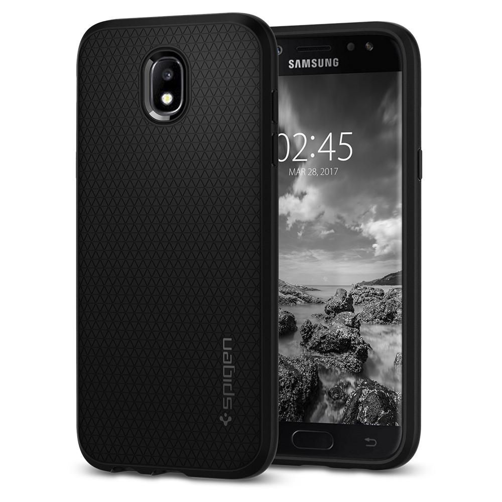 Spigen Θήκη Liquid Air Samsung Galaxy J5 2017 - Black (584CS21802)