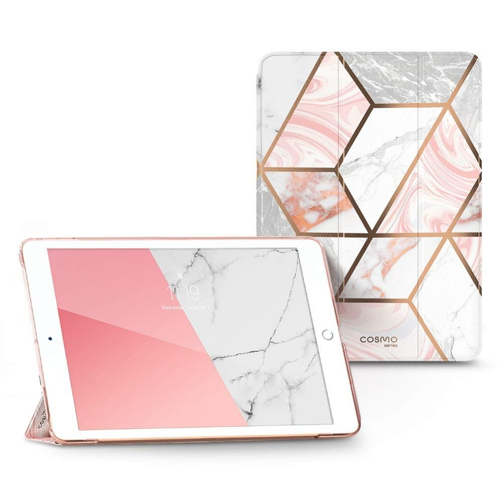 Supcase i-Blason Ανθεκτική Θήκη Cosmo Lite Apple iPad 10.2'' 2019 - Marble (KD191218)