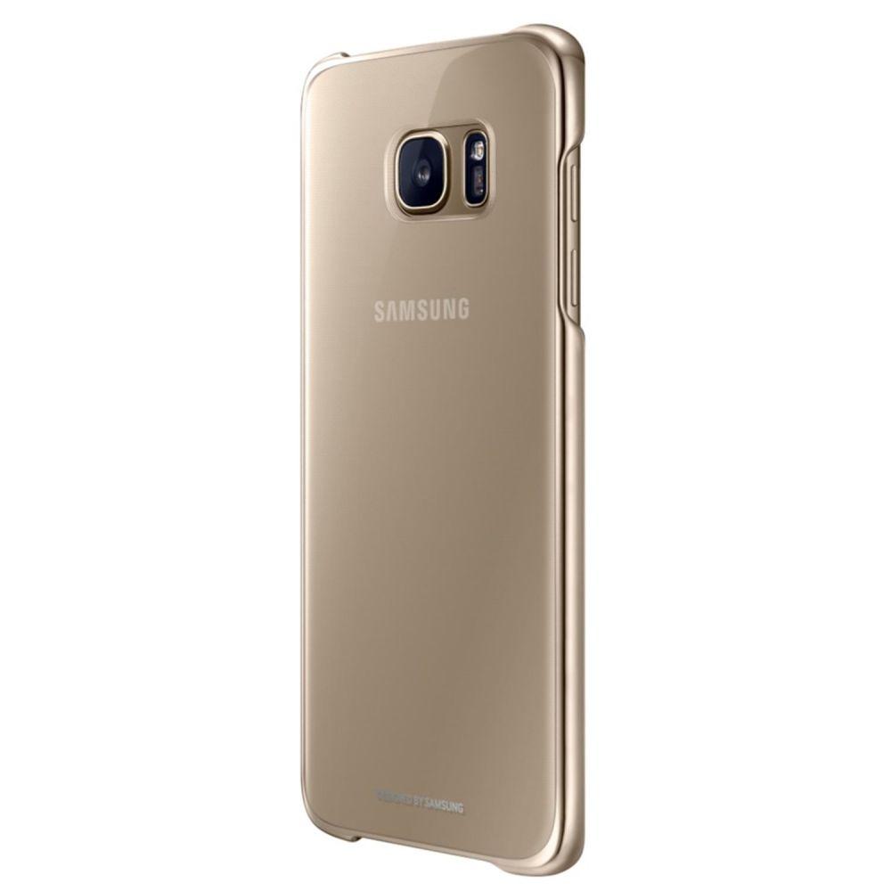 Samsung Official Σκληρή Θήκη Galaxy S7 Edge - Gold (EF-QG935CFEGWW)