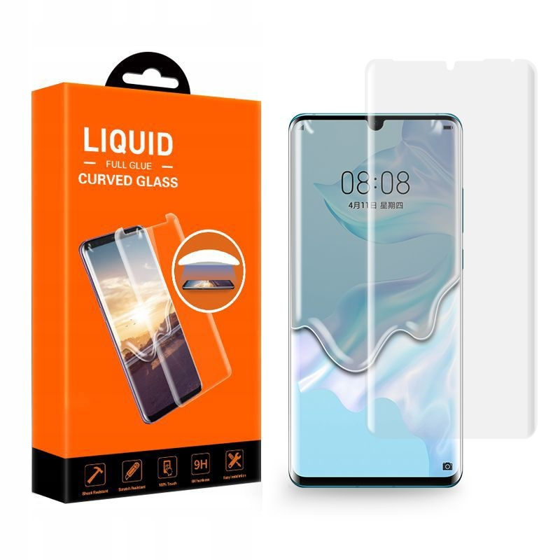 T-MAX Replacement Kit of Liquid 3D Tempered Glass - Σύστημα αντικατάστασης Huawei P30 Pro (46720)