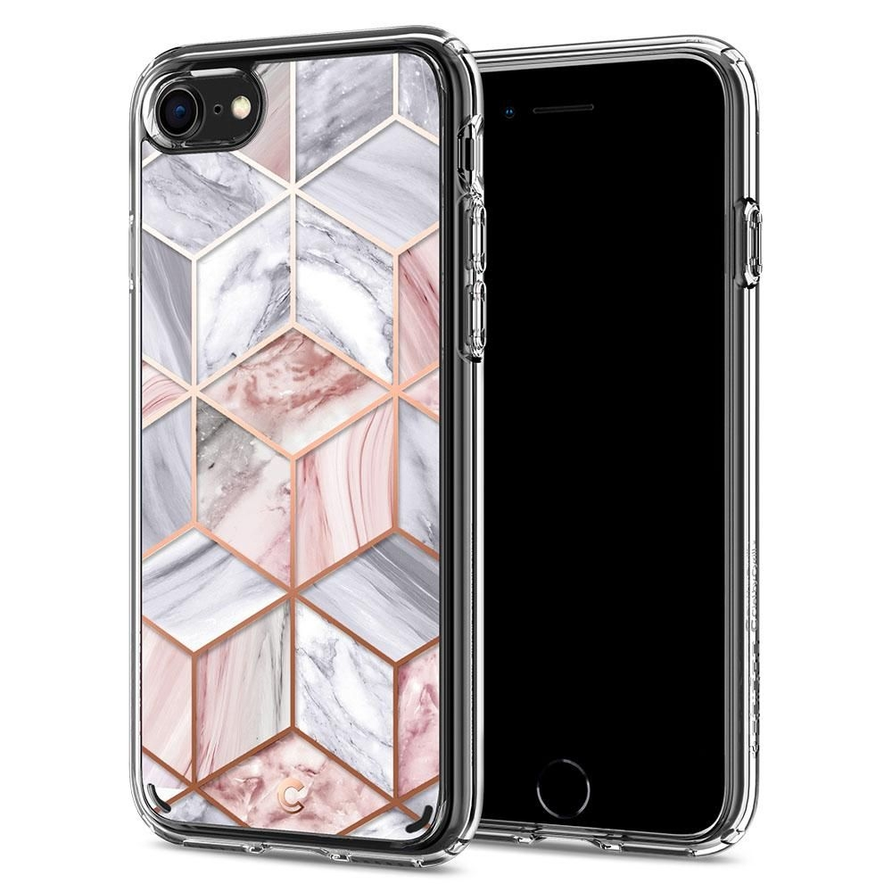 Spigen Θήκη Ciel iPhone SE 2020 / 7 / 8 - Pink Marble (ACS00967)