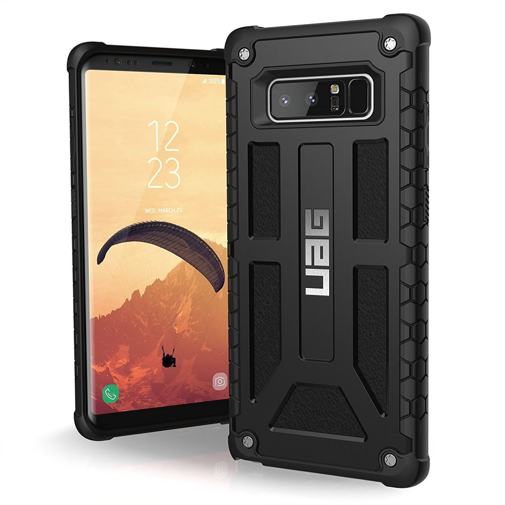 UAG Θήκη Monarch Light Rugged Samsung Galaxy Note 8 - Black (NOTE8-M-BLK)