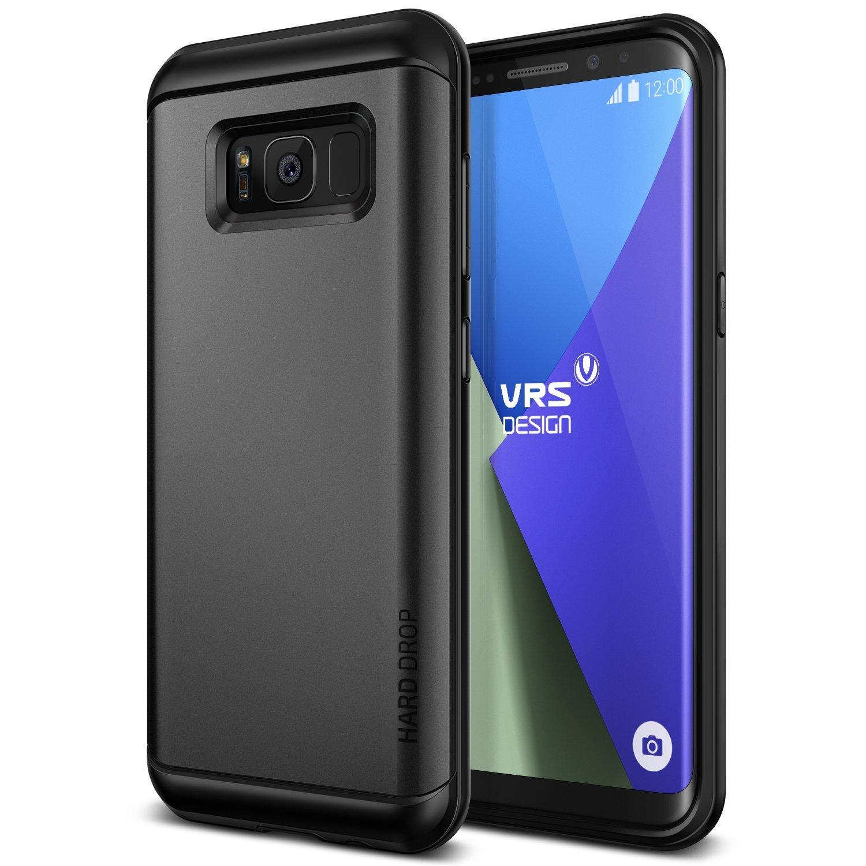 VRS Design Θήκη Hard Drop Samsung Galaxy S8 Plus - Dark Silver (904949)