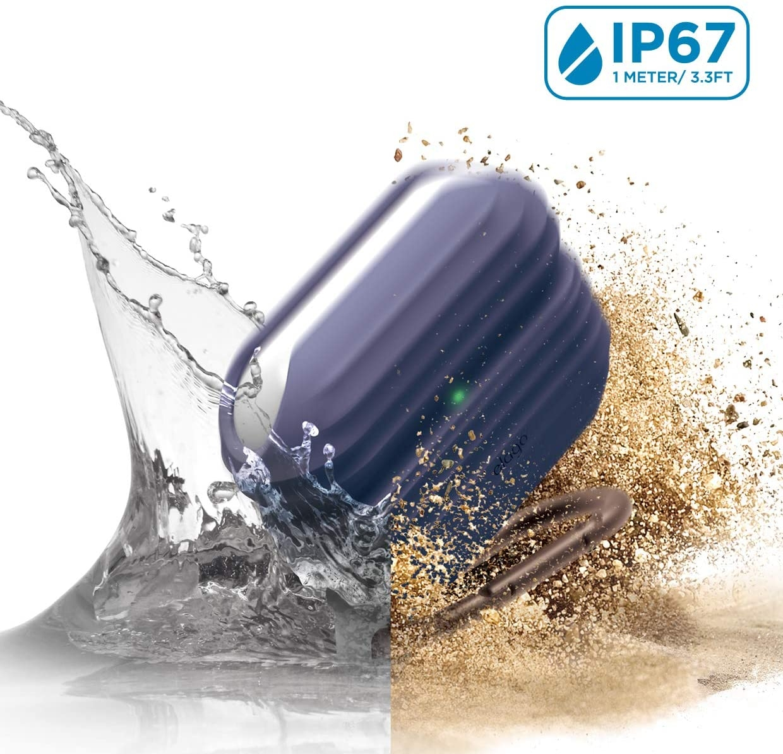 Elago AirPods Pro Waterproof Hang Case - Αδιάβροχη Θήκη για AirPods Pro IP67 - Jean Indigo (EAPPWF-HANG-JIN)