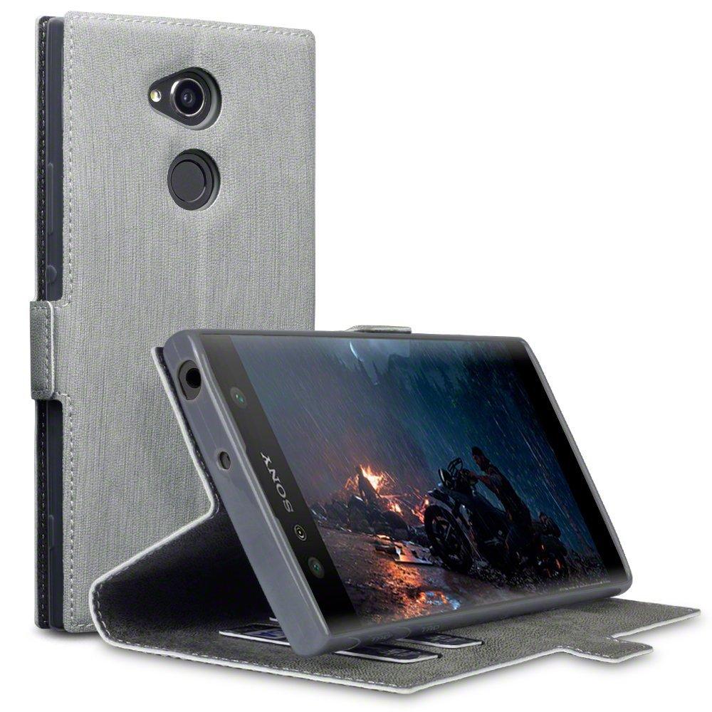 Terrapin Θήκη Πορτοφόλι Sony Xperia XA2 Ultra - Grey (117-005-589)