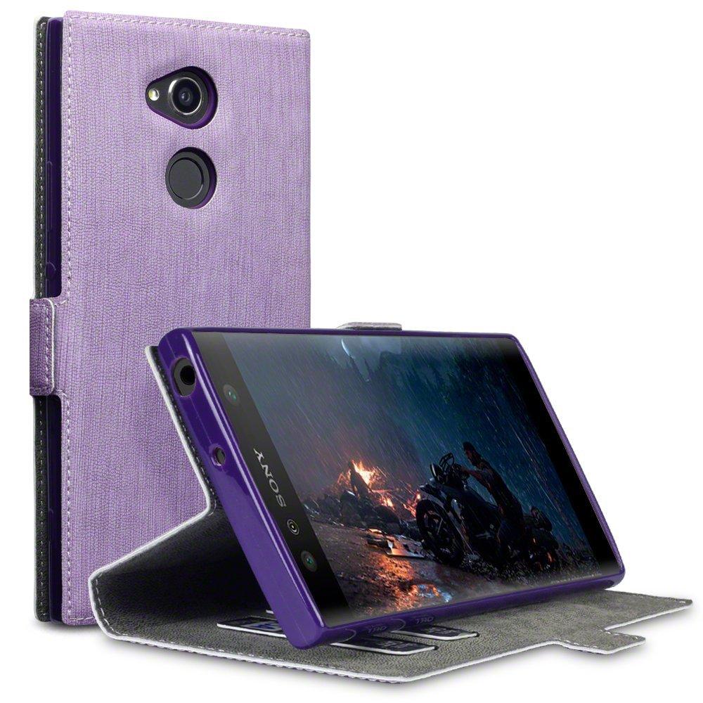 Terrapin Θήκη Πορτοφόλι Sony Xperia XA2 Ultra - Purple (117-005-587)