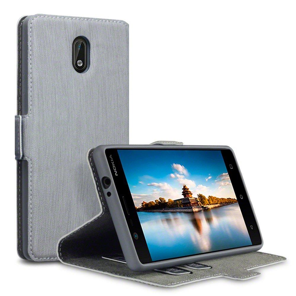 Terrapin Θήκη - Πορτοφόλι Nokia 3 - Grey (117-001-258)