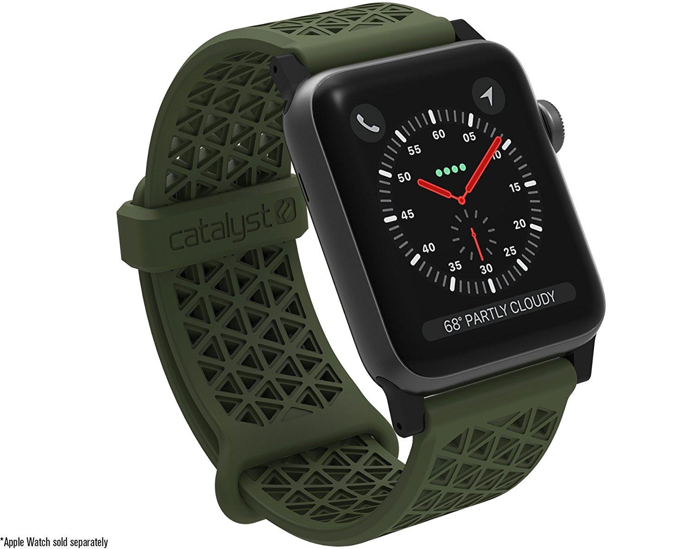 Catalyst Ανταλλακτικό Λουράκι Σιλικόνης Apple Watch 5/4/3/2/1 - 44/42mm -  Army Green (CAT42SBGRN)