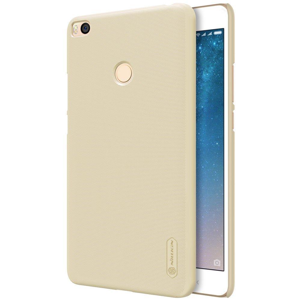 Nillkin Θήκη Super Frosted Shield Xiaomi Mi Max 2 & Screen Protector - Gold (11878)