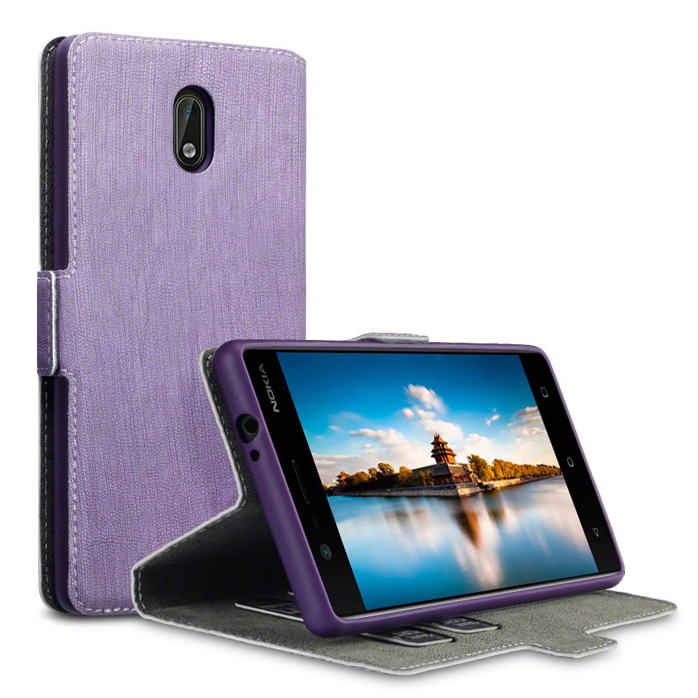 Terrapin Θήκη - Πορτοφόλι Nokia 3 - Purple (117-001-256)