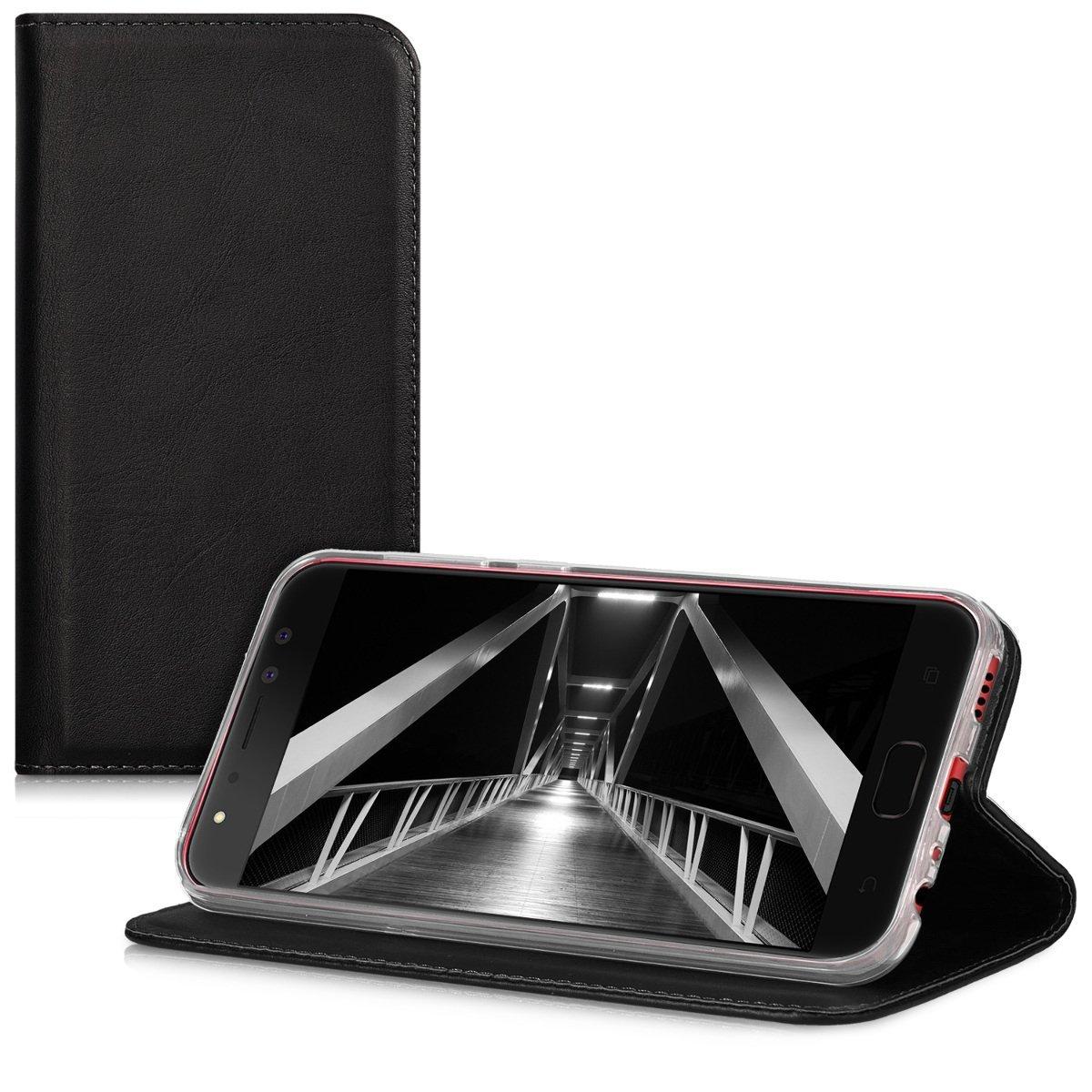 KW Flip Θήκη Asus Zenfone 4 Selfie Pro - Black (42967.01) θήκες κινητών