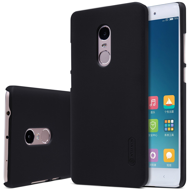 Nillkin Θήκη Super Frosted Xiaomi Redmi Note 4/Note 4Χ - Black + Screen Protector (10420)