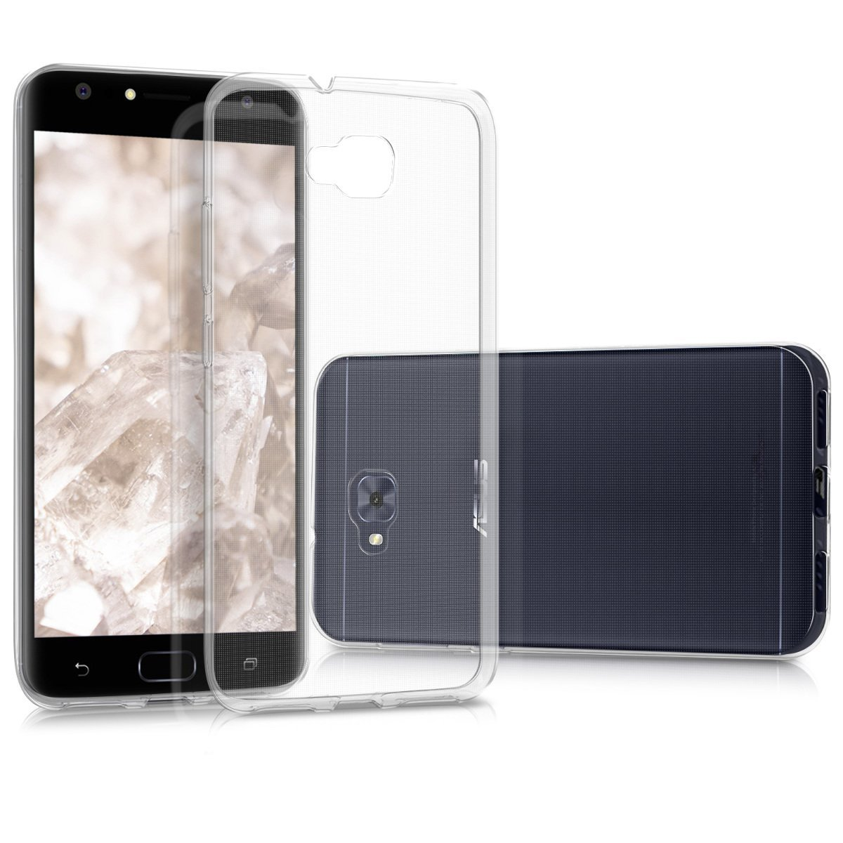 KW Διάφανη Θήκη Σιλικόνης Asus Zenfone 4 Selfie - Clear (42968.03) θήκες κινητών
