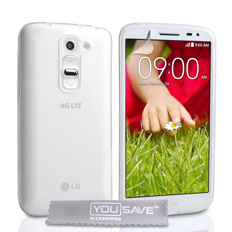 YouSave Διάφανη Θήκη Σιλικόνης LG G2 Mini (LG-FA02-Z690)