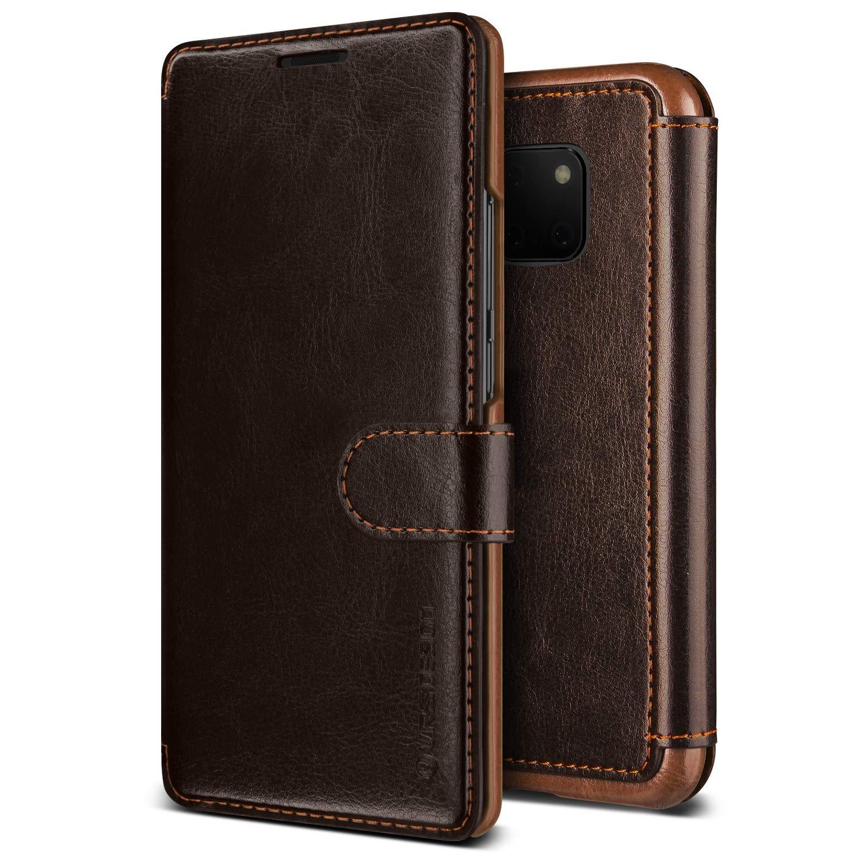 VRS Design Dandy Layered Θήκη - Πορτοφόλι Huawei Mate 20 Pro - Dark Brown (46259)