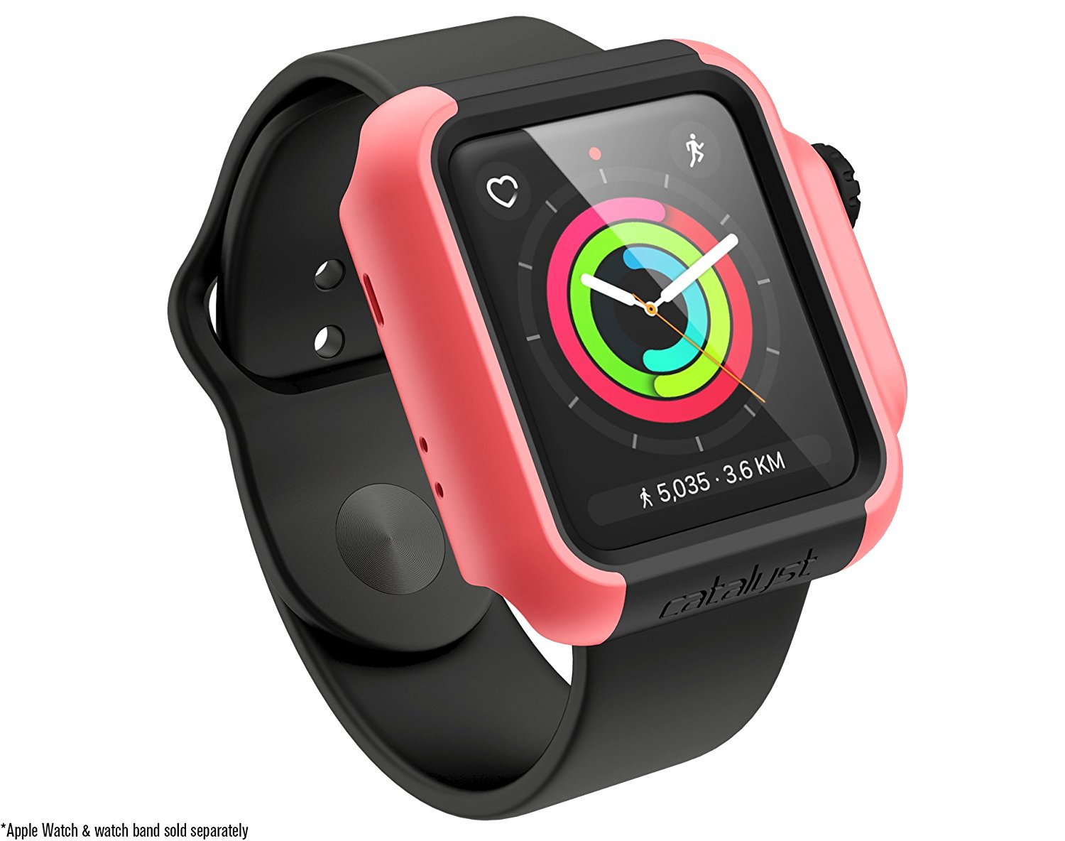Catalyst Θήκη Impact Protection για Apple Watch 42mm Series 3/2 - Coral (CAT42DROP3COR)