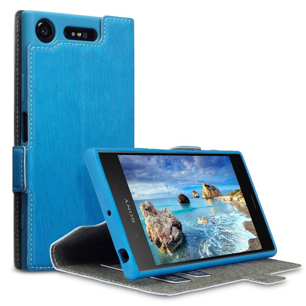 Terrapin Θήκη Πορτοφόλι Sony Xperia XZ1 - Light Blue (117-005-537)