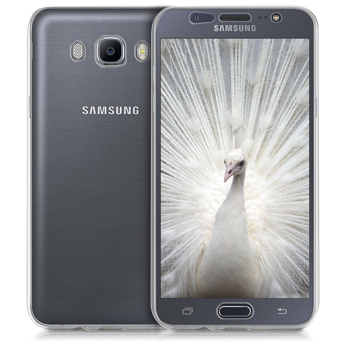 KW Fullbody Διάφανη Διπλή Θήκη Σιλικόνης Samsung Galaxy J7 (2016) - Clear (40615.03)
