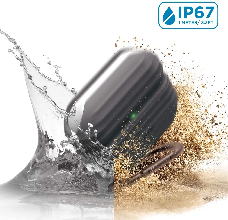 Elago AirPods Pro Waterproof Hang Case - Αδιάβροχη Θήκη για AirPods Pro IP67 - Dark Grey (EAPPWF-HANG-DGY)