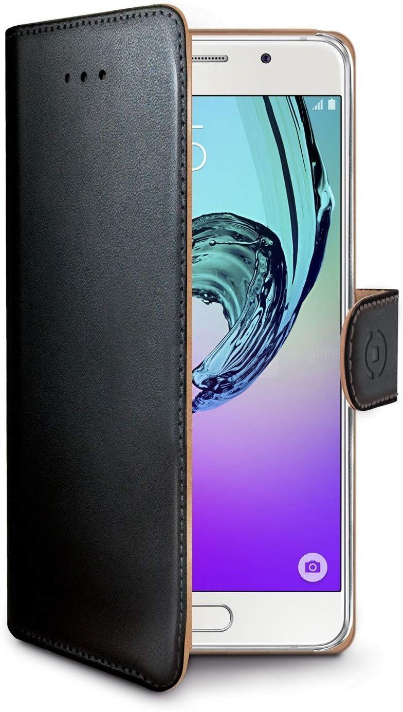 Celly Wally Θήκη - Πορτοφόλι Samsung Galaxy A3 (2016) - Black (WALLY534)