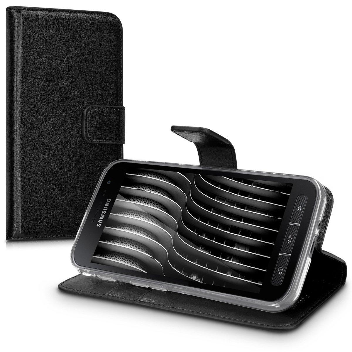 KW Θήκη - Πορτοφόλι Samsung Galaxy Xcover 4 - Black (41169.01)
