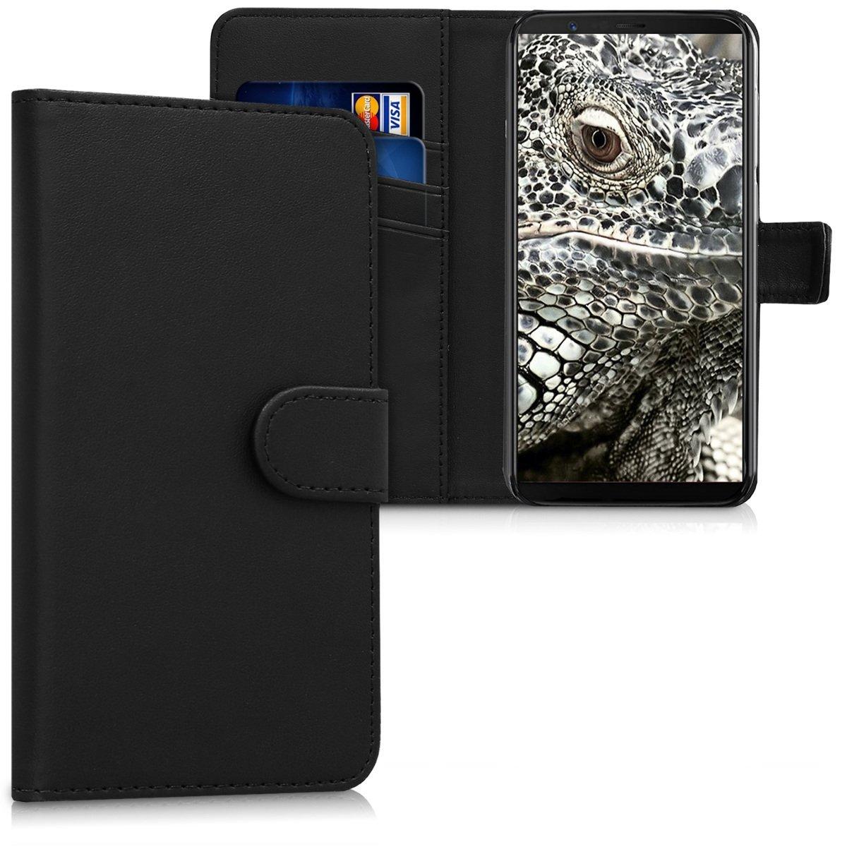 KW Θήκη - Πορτοφόλι OnePlus 5T - Black (43820.01)