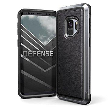 X-Doria Defense Lux Θήκη Samsung Galaxy S9 - Black Leather (3X3P4597A)