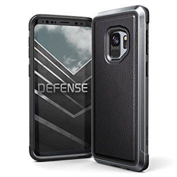 X-Doria Defense Lux Θήκη Samsung Galaxy S9 Plus - Black Leather (3X3P4697A)